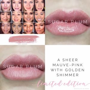 Limited Edition Sugar Plum Lipsense NWT